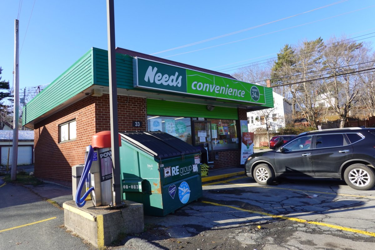 The Needs convenience store located at 33 Herring Cove Road in Halifax.