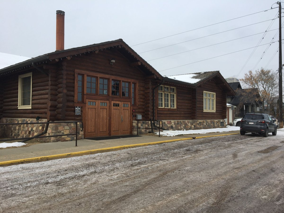 Edmonton's Pioneers Cabin, formerly known as the Old Timers Cabin on Monday, Dec. 14, 2020.