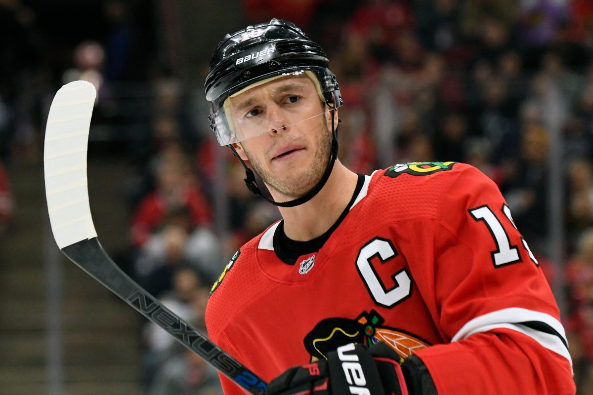 Chicago Blackhawks center Jonathan Toews will miss the start of training camp due to an illness, and there is no timetable for his return.