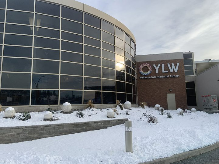 More than 737,000 air travelers made their way through YLW last year. The airport says that's a 64 per cent drop from the more than 1.2 million passengers in 2019.