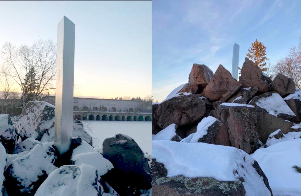 The monolith at Old Pinawa Dam.
