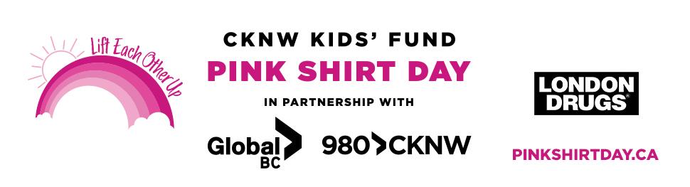 V2 980 CKNW Pink Shirt Day 2021