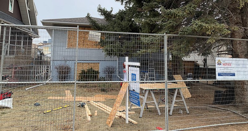 Within a two-year period, the Calgary Police Service visited the house on 143 occasions for incidents which included a stabbing and two fatal overdoses.