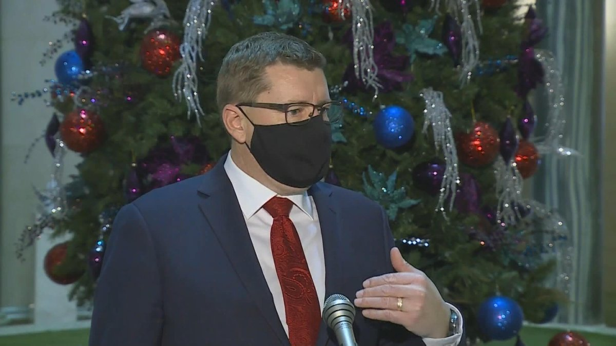 Saskatchewan Premier Scott Moe said they could choose to extend existing measures, bring in added ones or loosen the restriction that limits household gatherings.
