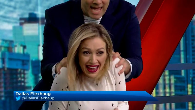 Let's take a look back at some of the top bloopers and morning moments from Global News Morning Calgary this year.