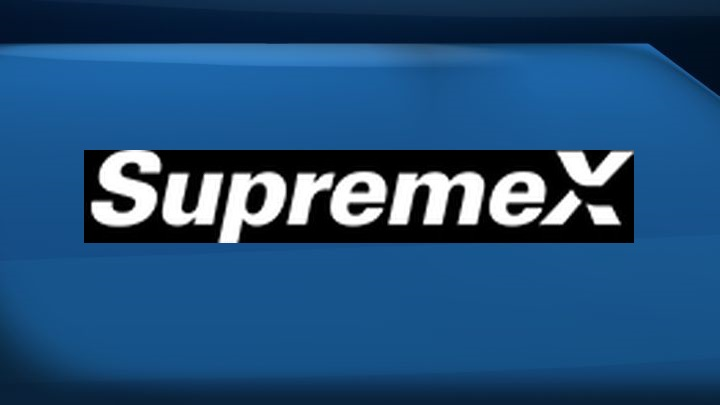 A file photo of the logo for Supremex.