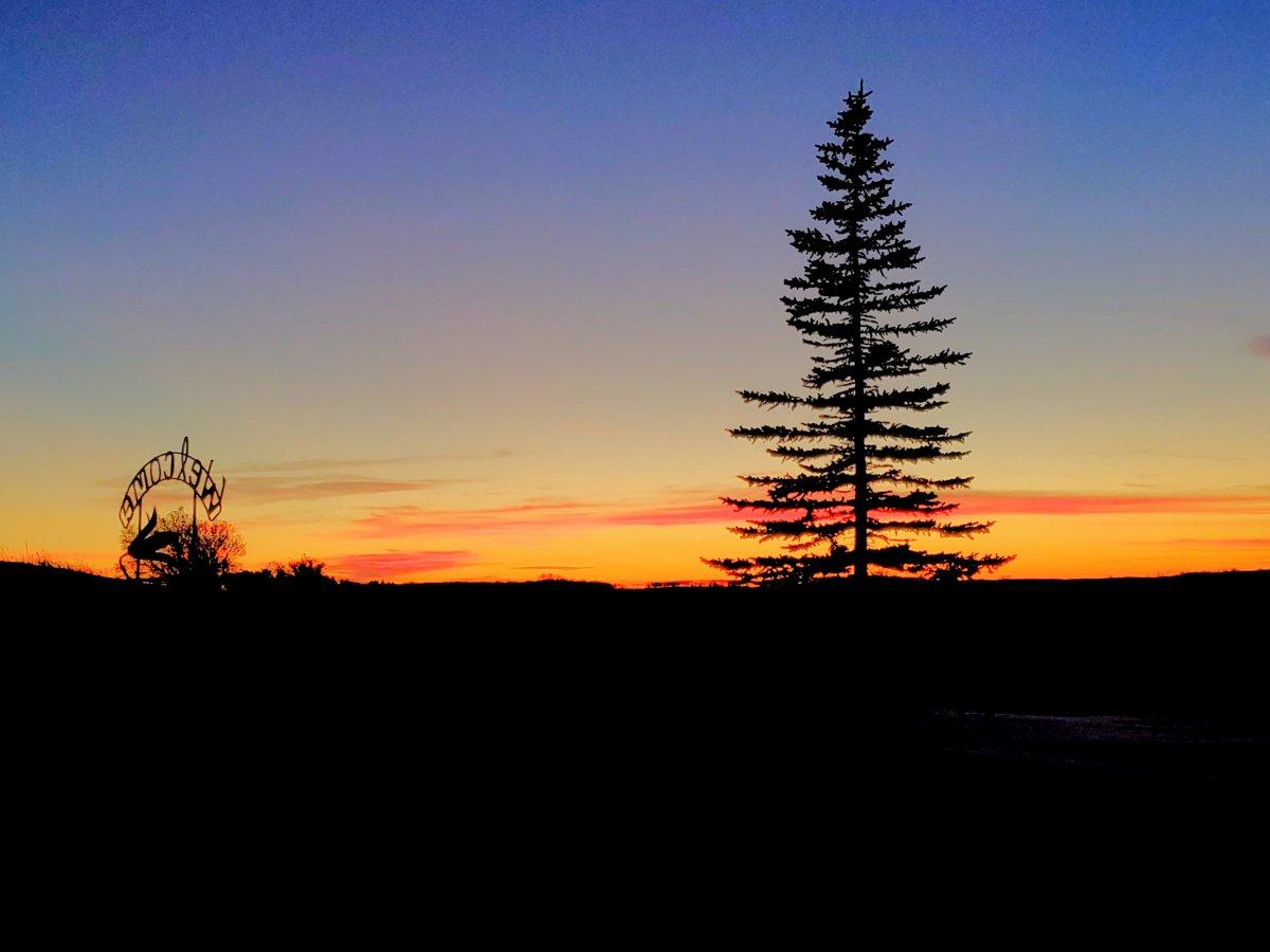 Barry Strocen took the December 31 Your Saskatchewan photo in Ituna.