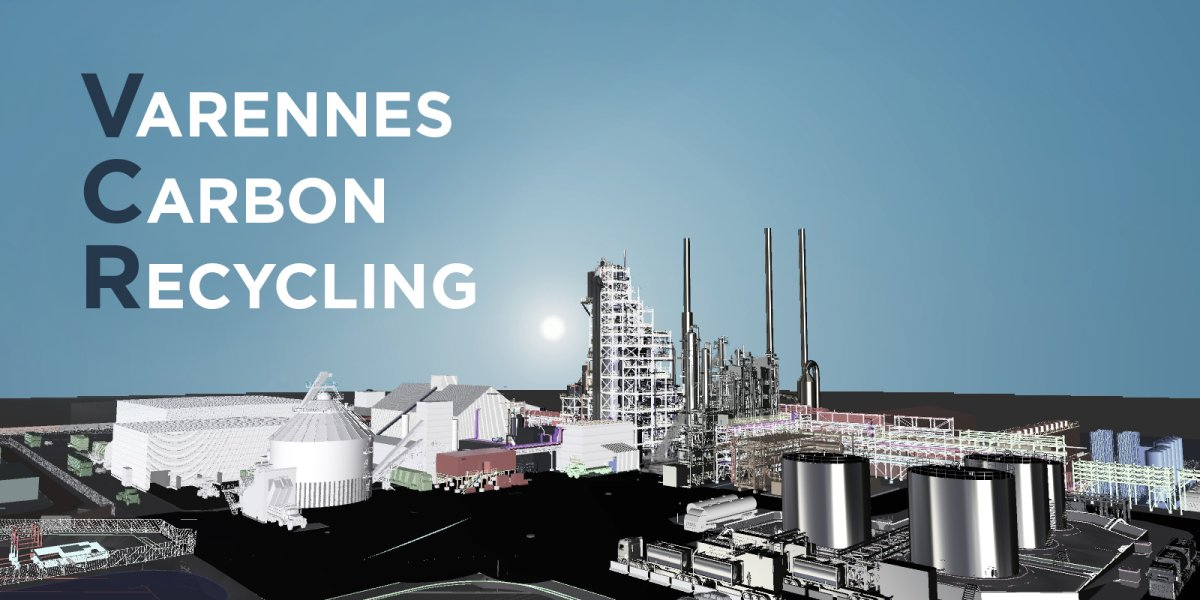 A new plant to produce biofuels from non-recyclable residual materials will be installed in Varennes, a city 30 minutes from down town Montréal.