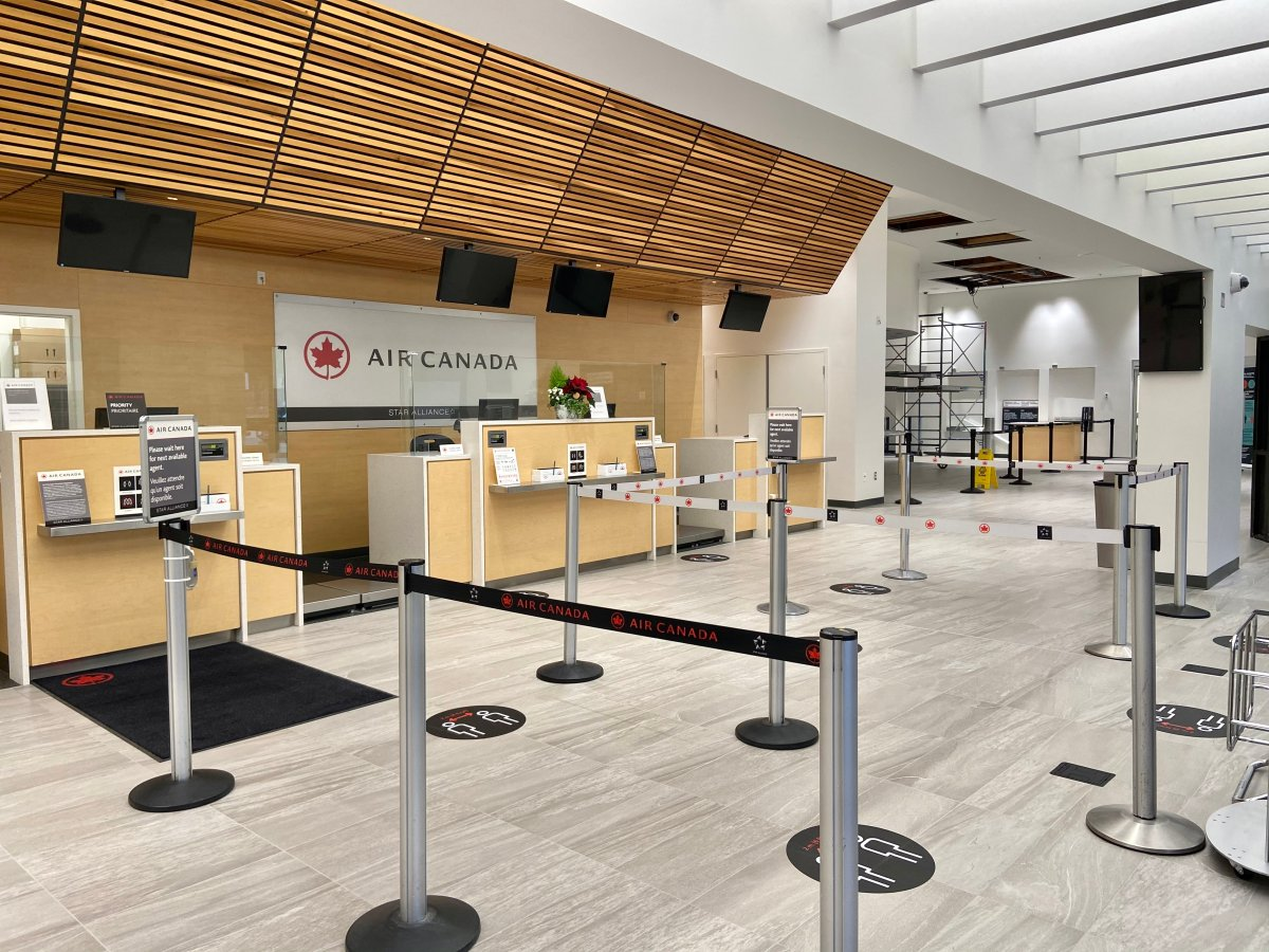 Air Canada is among the organizations participating in Manitoba's newly-expanded rapid testing.