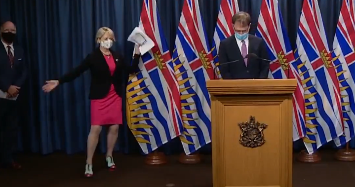 B.C.'s top doctor goes viral for 'happy dance' ahead of vaccine rollout