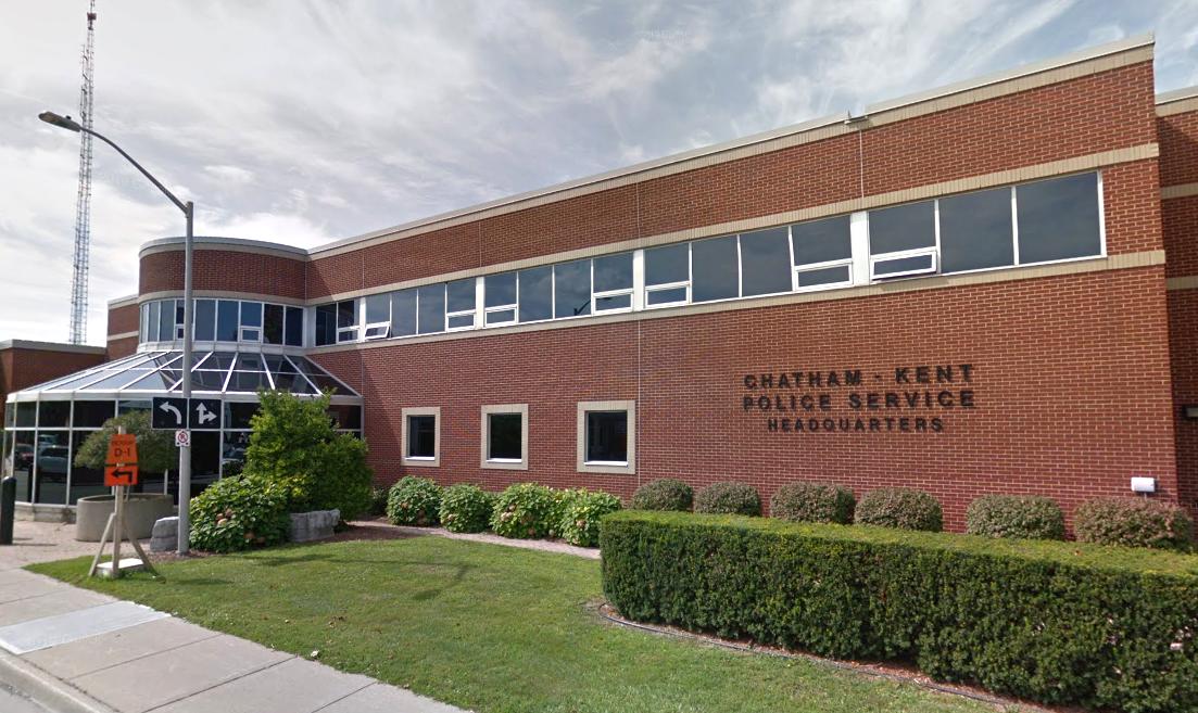 Chatham-Kent Police headquarters.