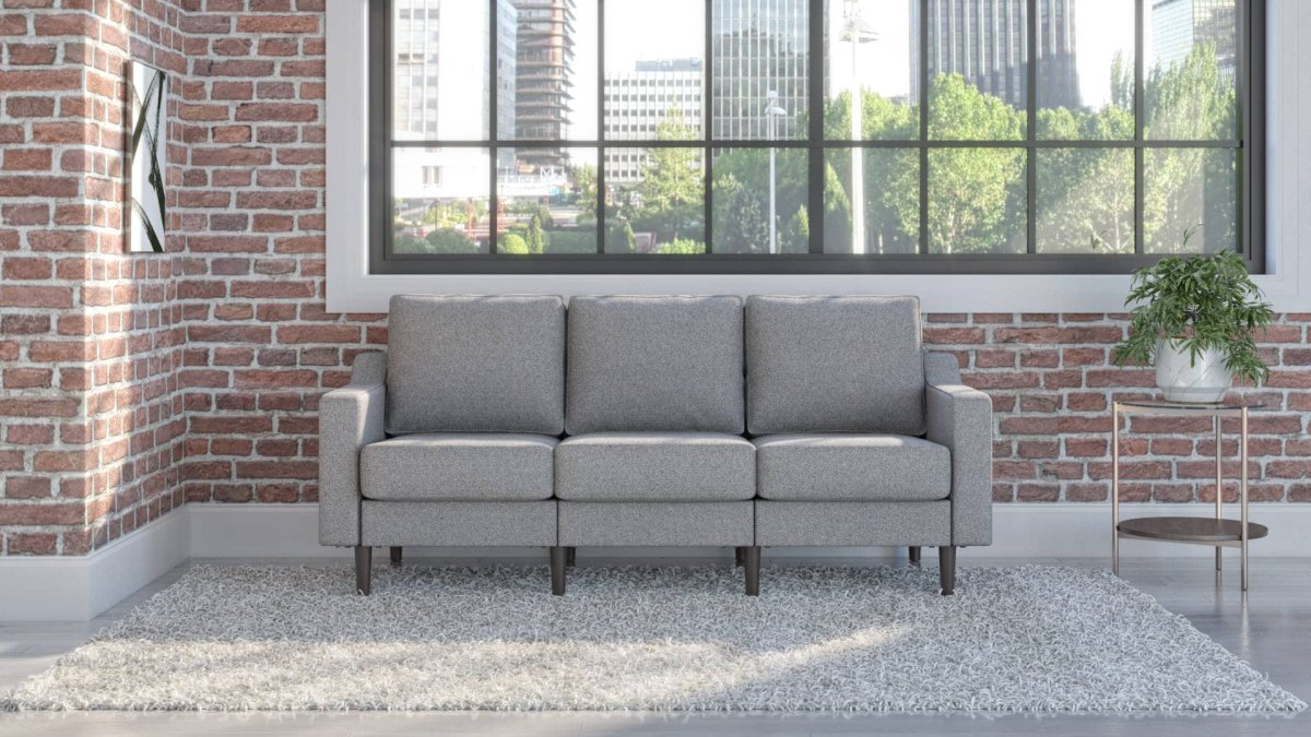 Cozey's unique modular sofa-in-a-box is a comfortable and stylish solution that fits any space.