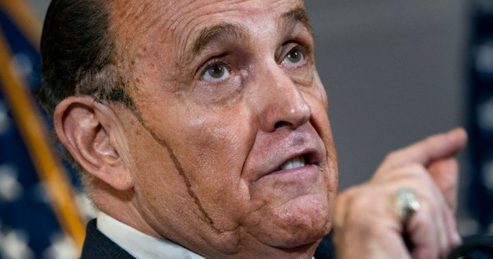 Rudy Giuliani boasts of same 'celebrity' care as Trump after COVID-19 hospital stay