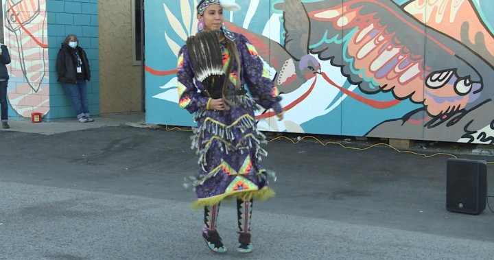 Westbank First Nation woman dances to heal a community