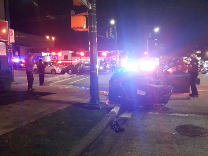 Multi-vehicle collision involving Vancouver police cruiser sends several to hospital - image
