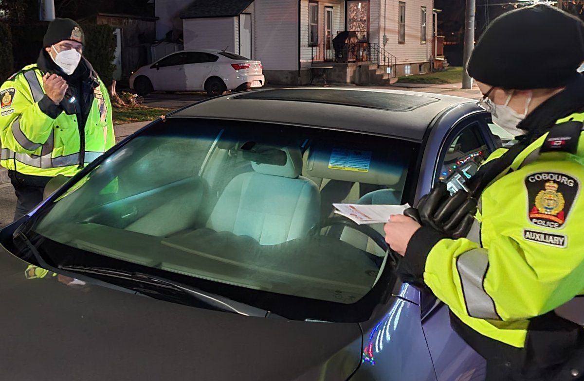 """Cobourg police check vehicles during annual 'Lock it, or Lose it"""" campaign."""