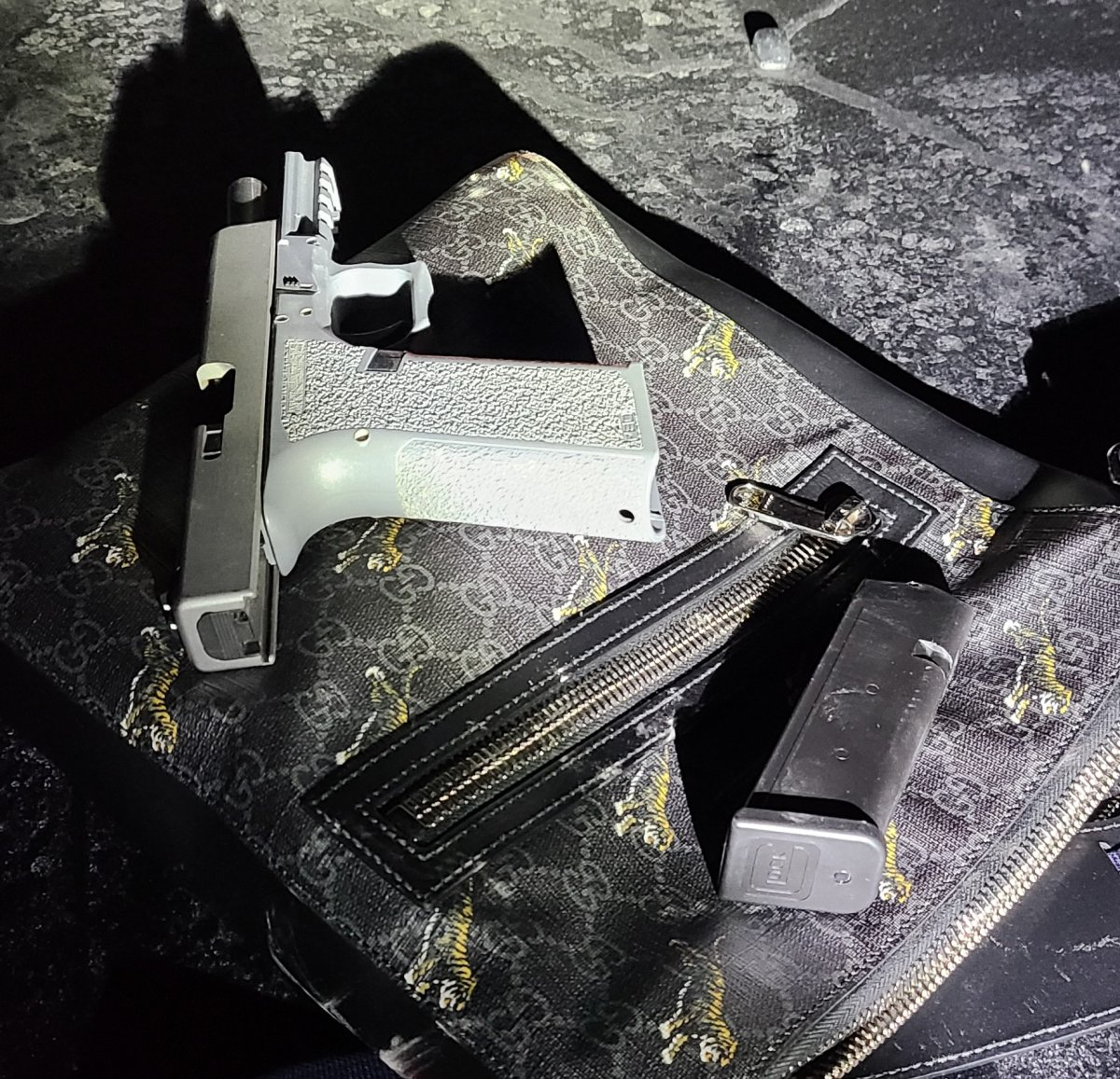 Northumberland OPP seized a firearm during a traffic stop on the weekend.