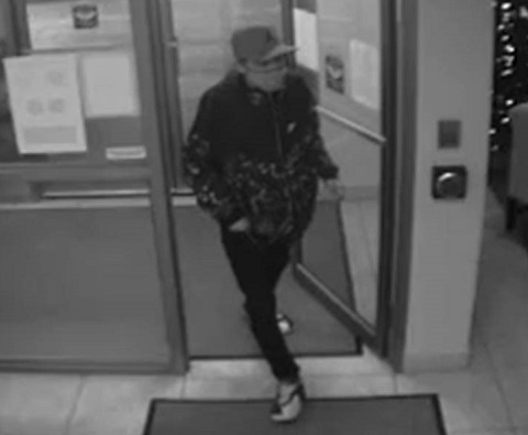 Kingston police are looking for this man, who they say stole several packages from a downtown apartment building.