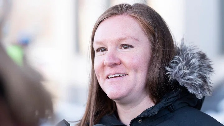 Emily Eaton, University of Regina associate professor in the Department of Geography and Environmental Studies, is defending members of the executive committee and the motion surrounding fossil fuels and advertisements.