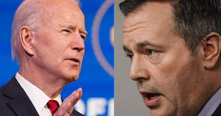 Alberta premier urges Biden to show Canada 'respect' on Keystone XL file thumbnail