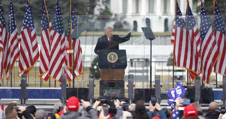 globalnews.ca: Twitter, Facebook, Instagram suspend Trump's accounts after Capitol building stormed