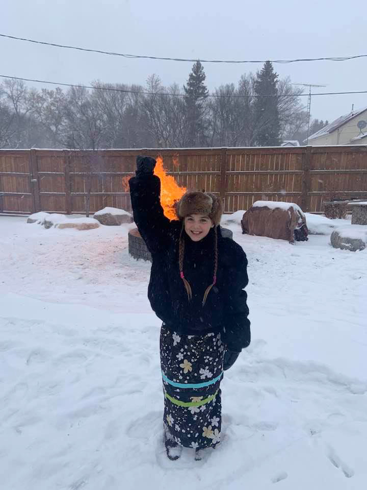 Ten-year-old Isabella Kulak is shown in this undated handout image in Kamsack, Sask., a town about 270 kilometres east of Regina, provided by her family.