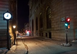 Continue reading: Quebec's first night of curfew in photos