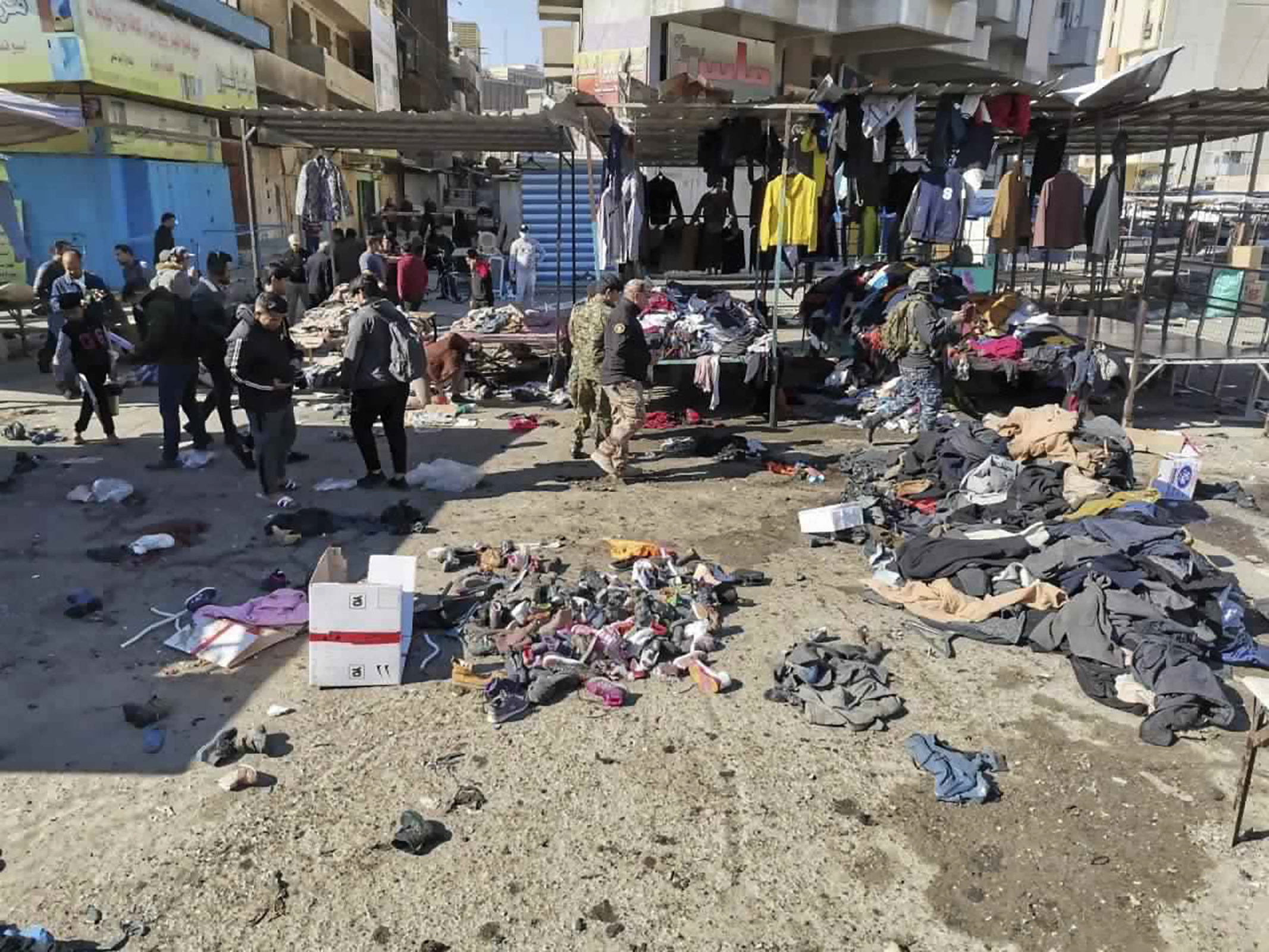 Twin suicide bombings in Baghdad leave 32 dead