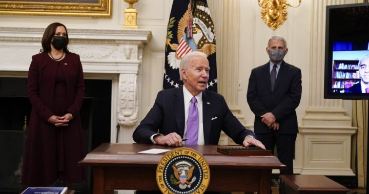 Masks, testing, distancing: Coronavirus measures now the rule in Biden's White House – National