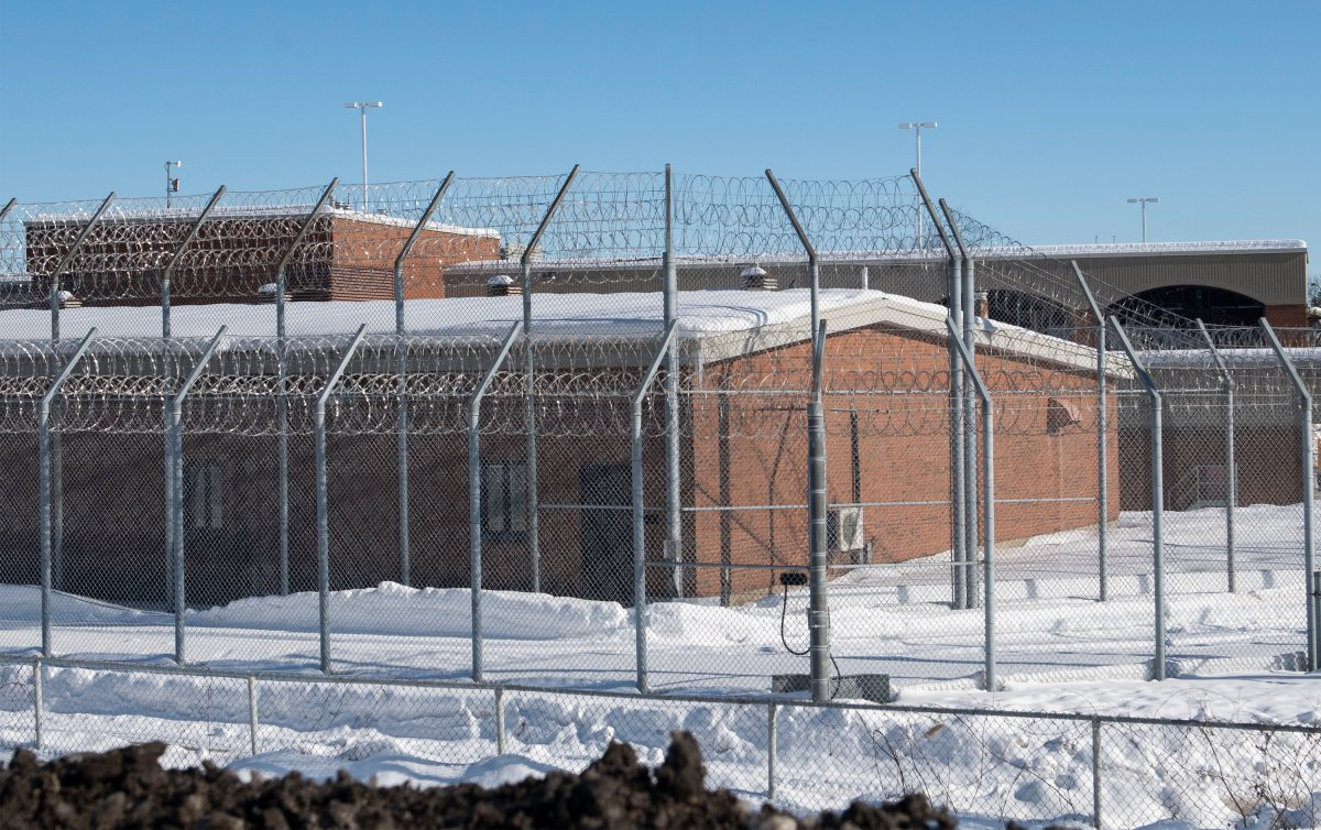 Saint-Jérôme prison is shown in Saint-Jérôme, Que., north of Montreal, Sunday, January 24, 2021. An outbreak of COVID-19 has been reported at the prison.
