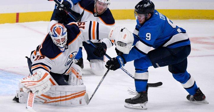 Edmonton Oilers win with buzzer beater in Winnipeg
