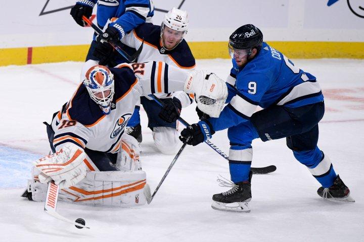 , Edmonton Oilers win with buzzer beater in Winnipeg,