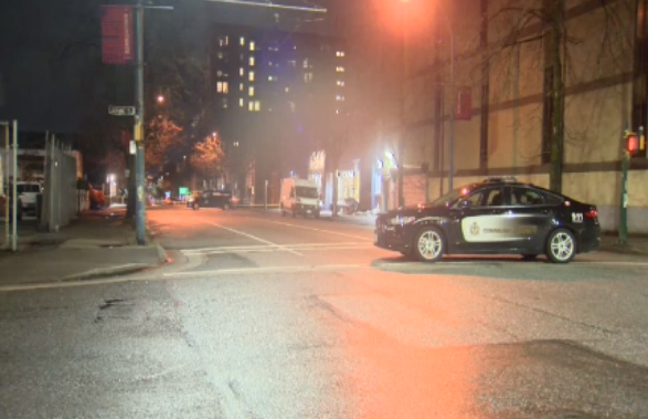 Two men charged following armed standoff with Vancouver police