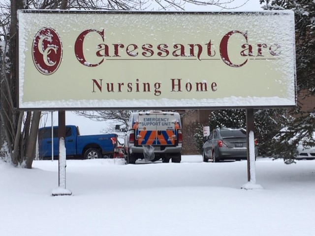 An outbreak at Caressant Care McLaughlin in Lindsay has claimed the lives of 11 residents as of Feb. 7.