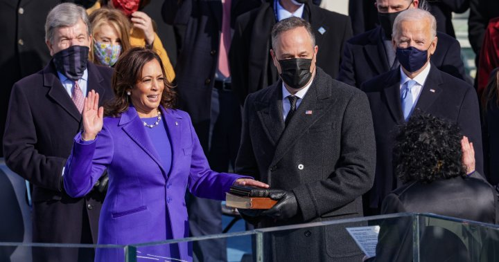 Kamala Harris makes history as America's first woman vice president