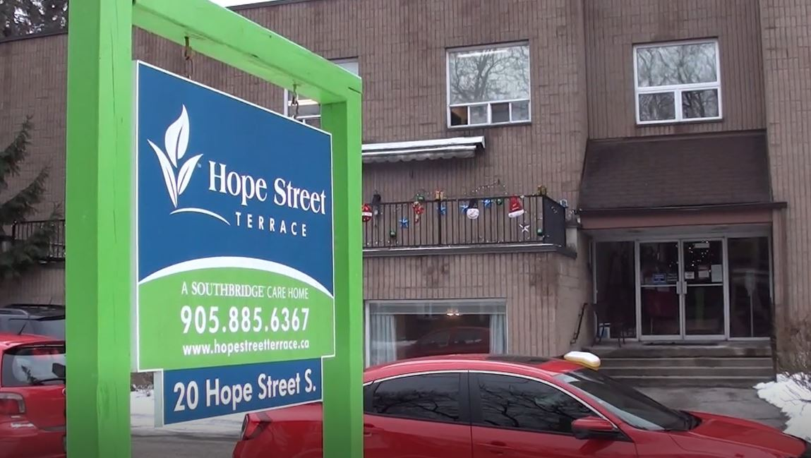 A COVID-19 outbreak continues at Hope Street Terrace Long-Term Care in Port Hope.