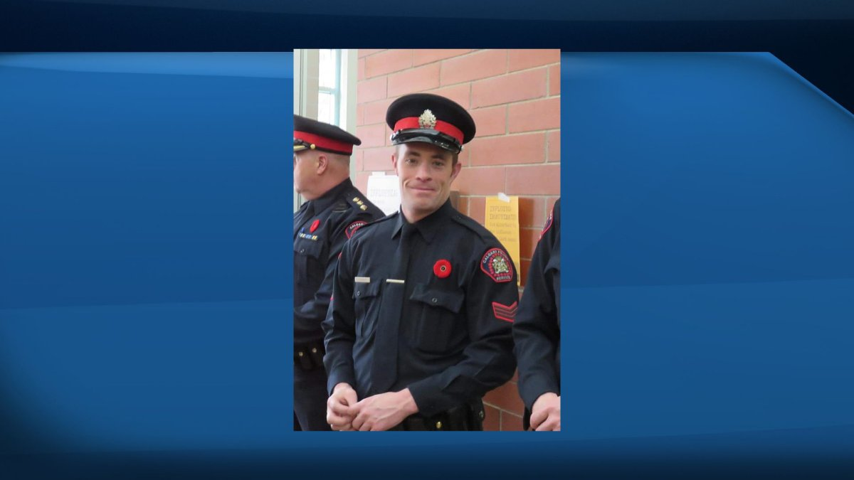 Sgt. Andrew Harnett was killed in the line of duty during a traffic stop in Calgary Dec. 31, 2020.