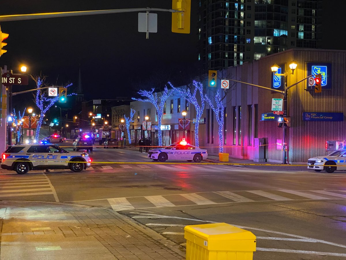 George and Queen Street blocked off for a shooting investigation in Brampton.