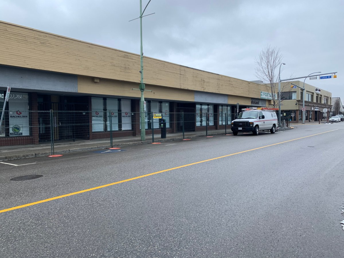 This building at the corner of Leon Avenue and Pandosy Street in downtown Kelowna will be the future site of a permanent drug injection site.