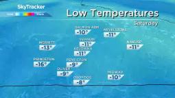 Continue reading: Okanagan weather: Arctic air, cold temperatures, en route for region