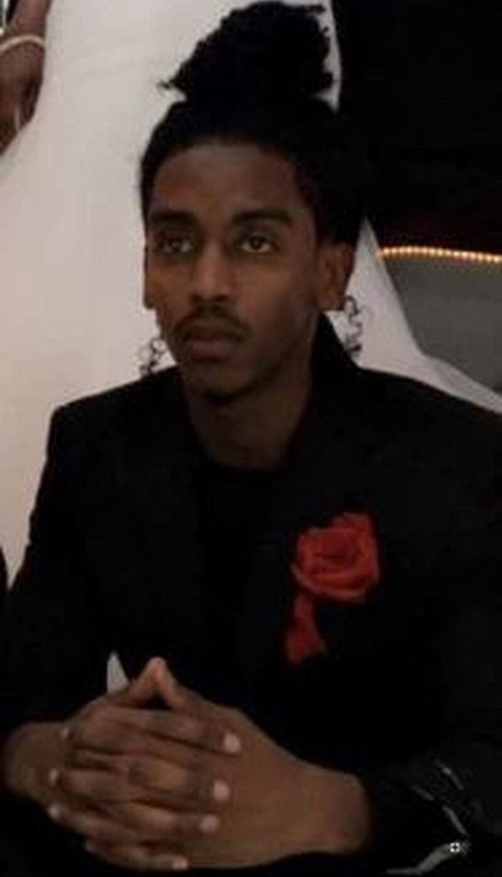 A photo of the victim, 25-year-old Mohamed Jeylani, from Minnesota, U.S.