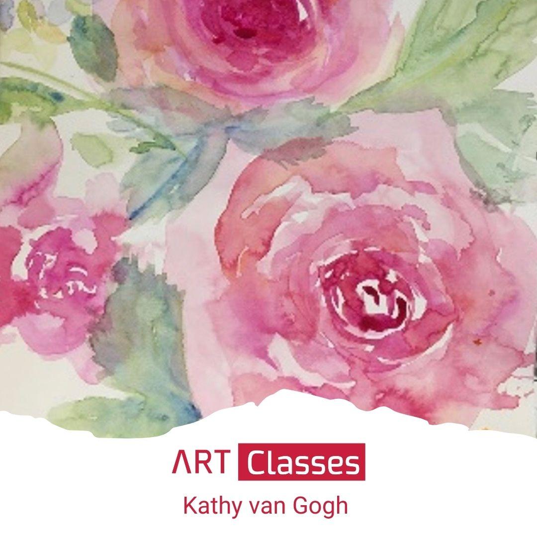 Loose Watercolour Flowers Art Class Bc Globalnews Ca