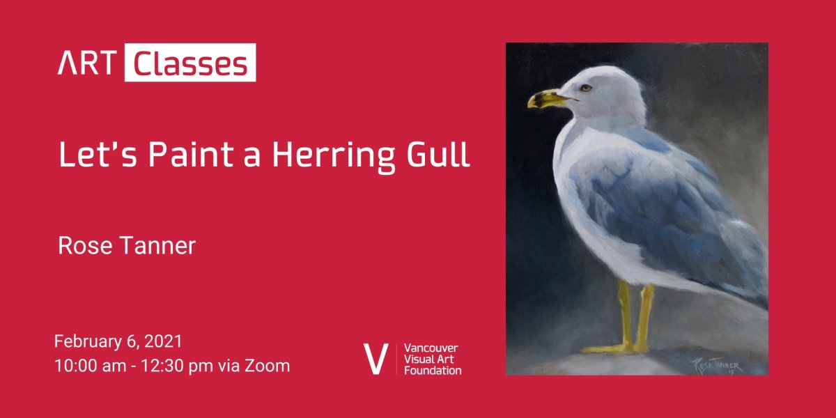 Let's paint a Herring Gull. By the end of this class, you will know how to create realistic birds. This live class also focuses on brushwork, edges, texture and how to make white, colourful. The class is for beginning/intermediate oil painters (acrylic painters welcome) Discover how to paint feathers, realistic eyes and beaks. Learn how to work with photographs and draw using the grid method or use your computer as a lightbox. You will also learn how to create a Rembrandt style background.