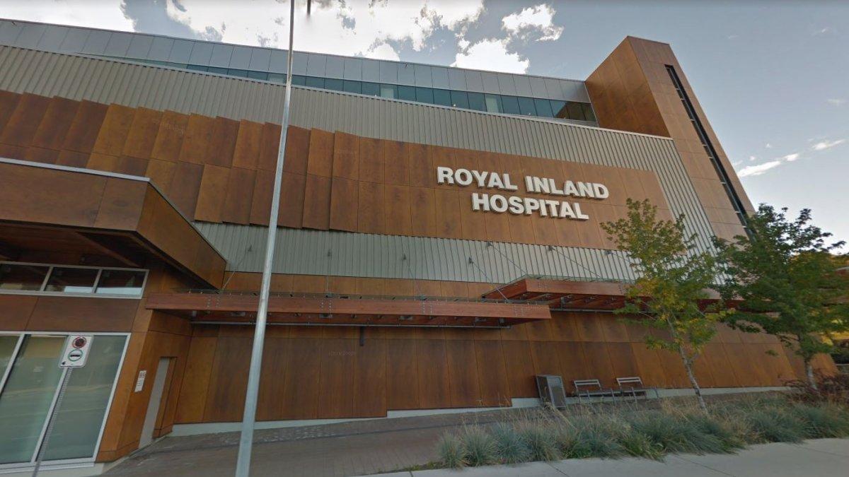 Royal Inland Hospital in Kamloops.