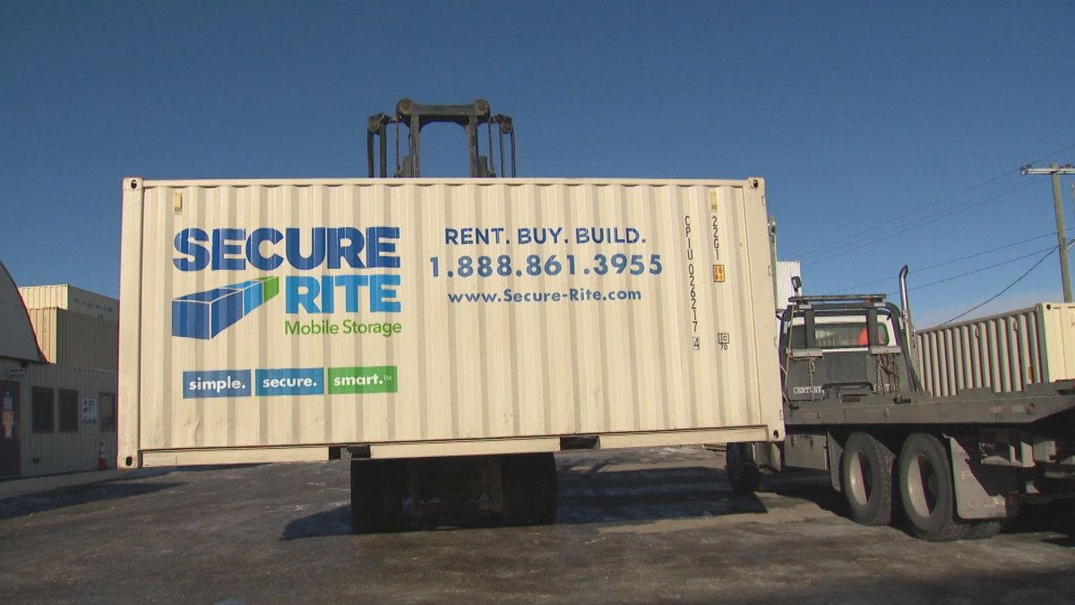 """Calgary mobile storage company warns about alleged """"sea can scam"""""""