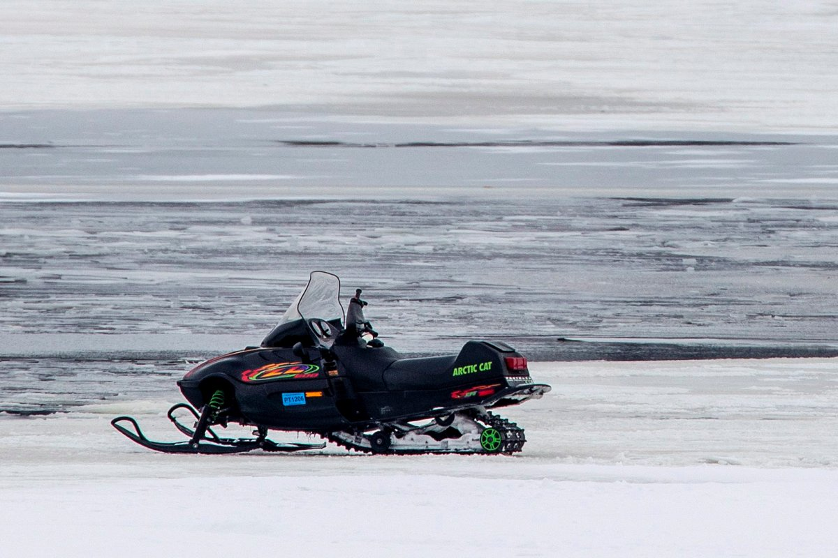 A new report says Canada averages 73 snowmobile deaths a year, with nearly 90 per cent of them involving males.