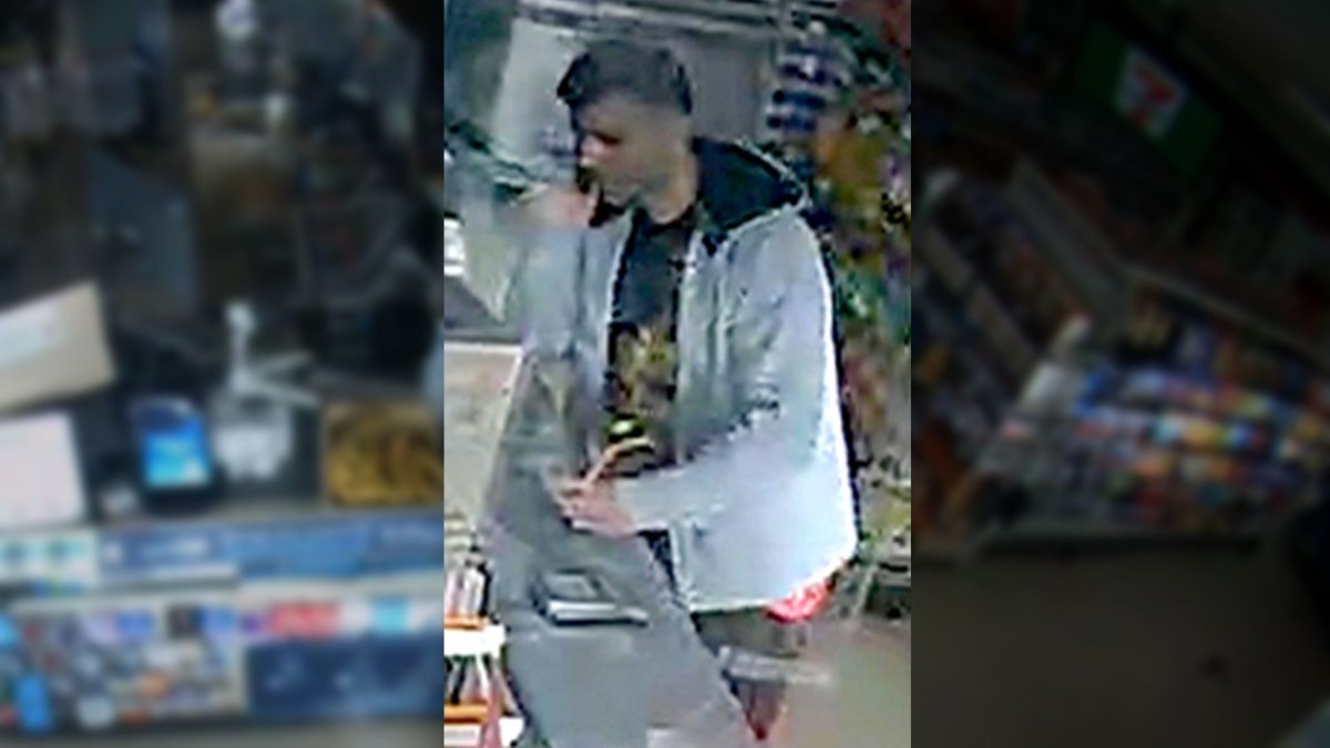 A still of the suspect from the VPD surveillance video.