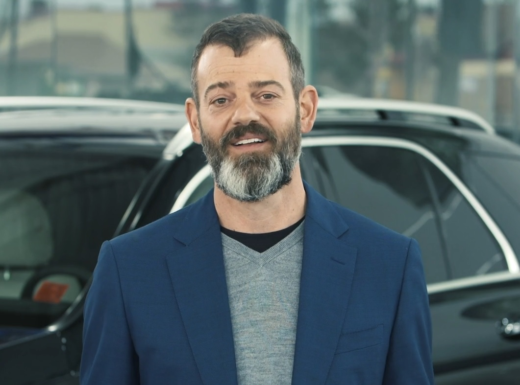 Ryan Finch, president of Finch Auto Group, as seen in a video announcing the total funds raised.