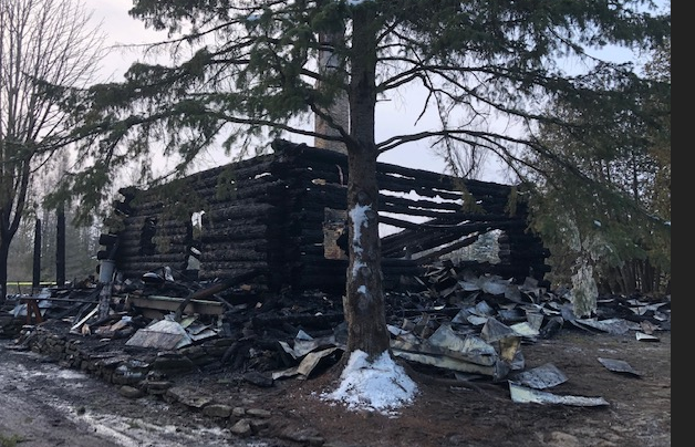 OPP say four people are unaccounted for following a fire in Oxford Mills over the weekend.