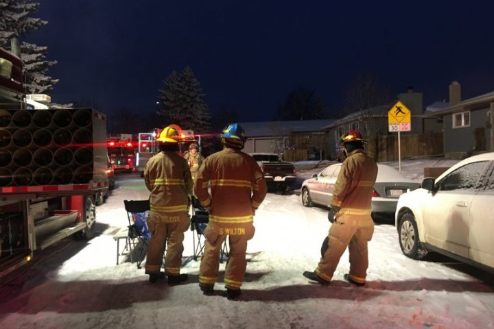 , Calgary firefighters rescue dog from Dover house fire,